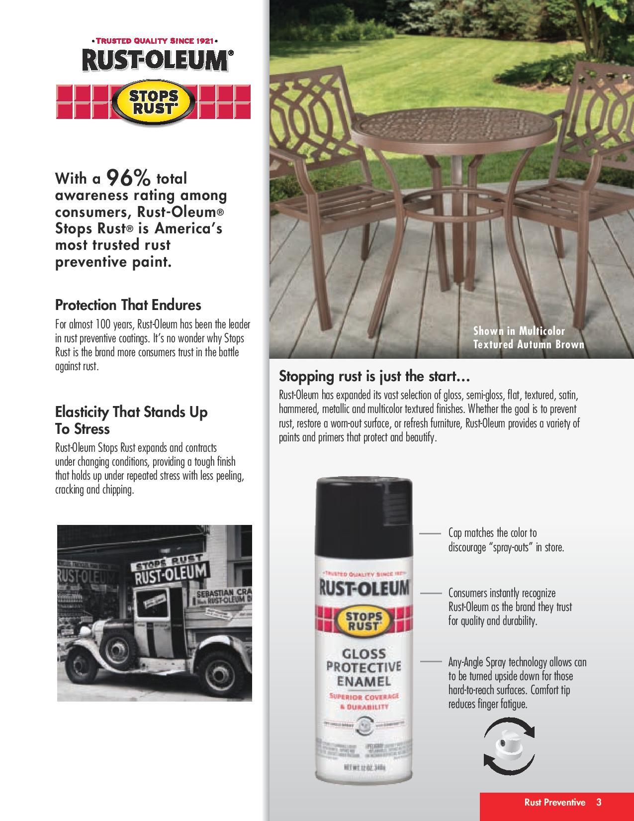 Rustoleum Stops Rust Protective Enamel